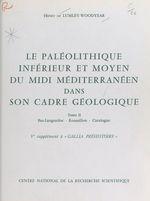 Vente EBooks : Le Paléolithique inférieur et moyen du Midi méditerranéen dans son cadre géologique (2) : Bas-Languedoc, Roussillon, Catalogne  - Henry de Lumley