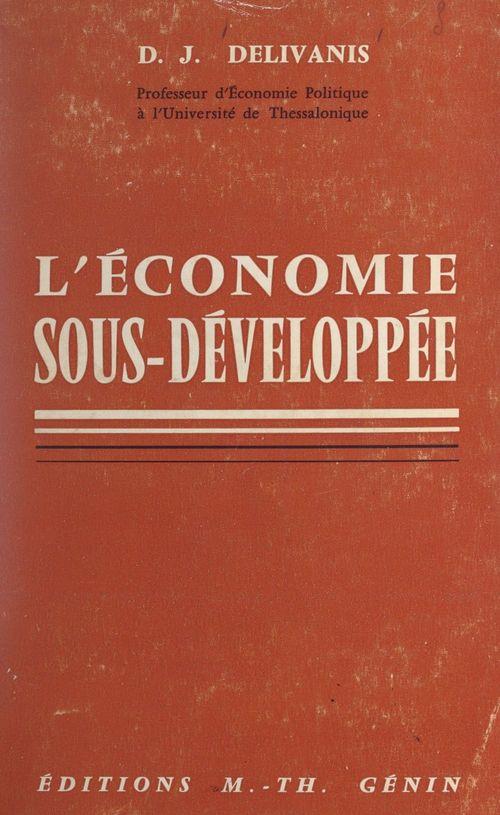 L'économie sous-développée