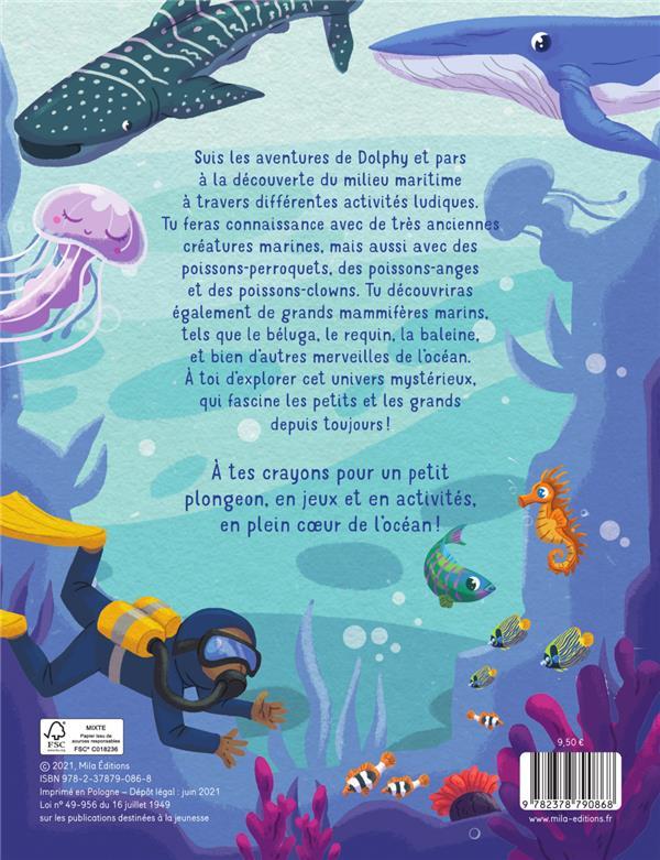 Je plonge dans l'océan : des activités pour créer et s'amuser !