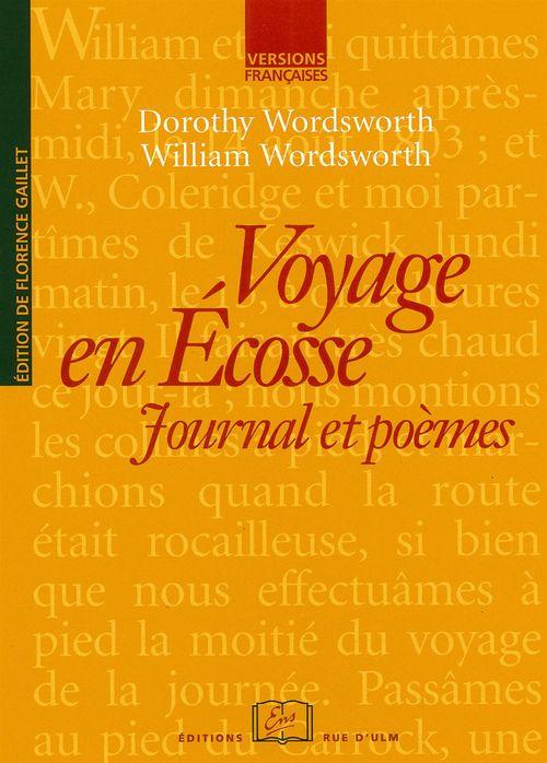 Voyage en Ecosse ; journal et poèmes