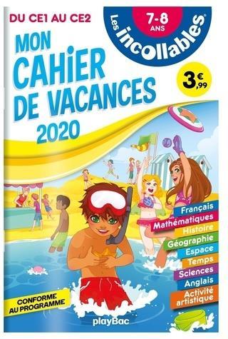 Les incollables ; cahier de vacances ; du CE1 au CE2