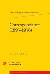Correspondance (1893-1936)