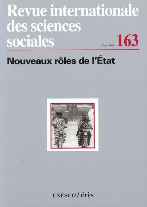 Riss n.163 ; nouveaux roles de l'etat