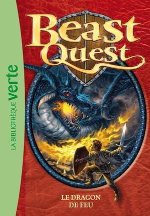Beast Quest 01 - Le dragon de feu