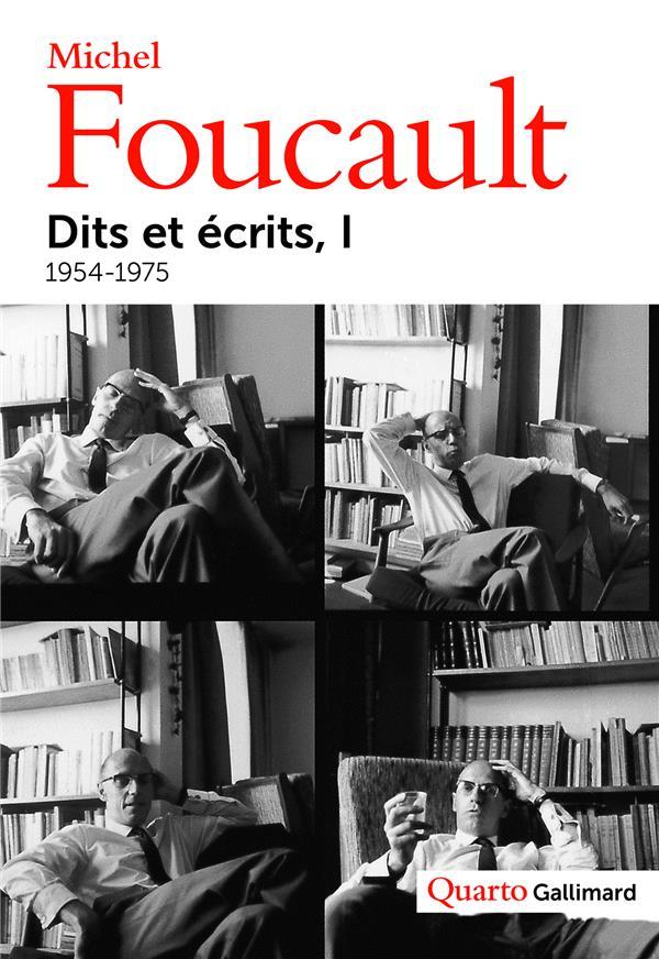 Dits et écrits t.1 ; 1954-1975