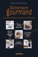 Vente Livre Numérique : Dictionnaire gourmand  - Marie-Hélène Baylac