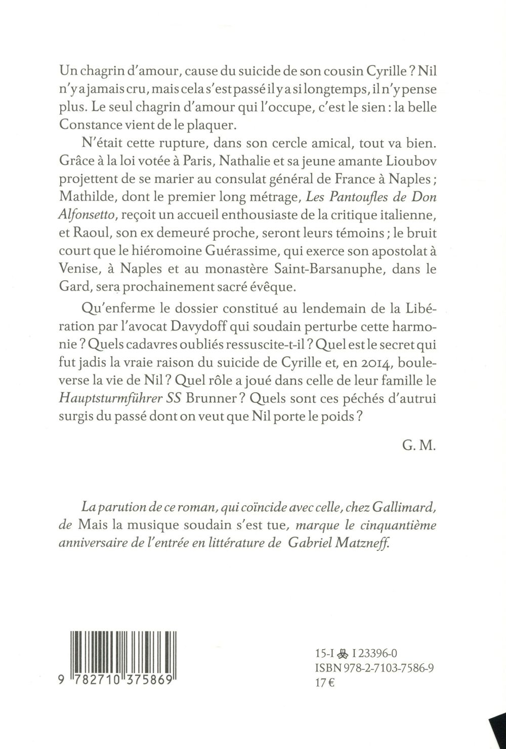 La lettre au capitaine Brunner