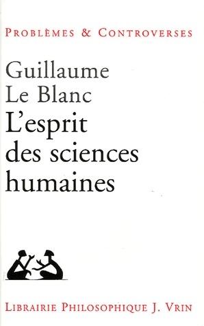 L'esprit des sciences humaines