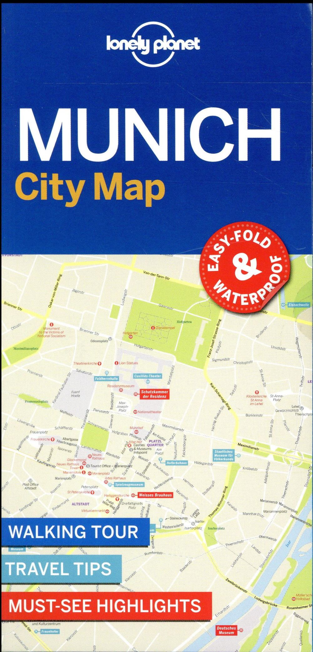 City map ; Munich (édition 2017)