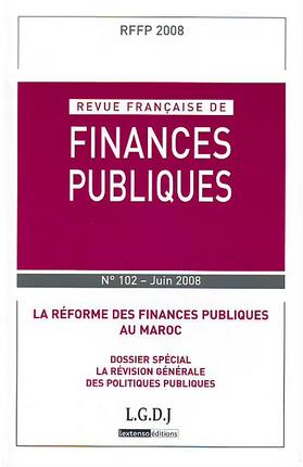Revue Francaise De Finances Publiques,  2008 N 102