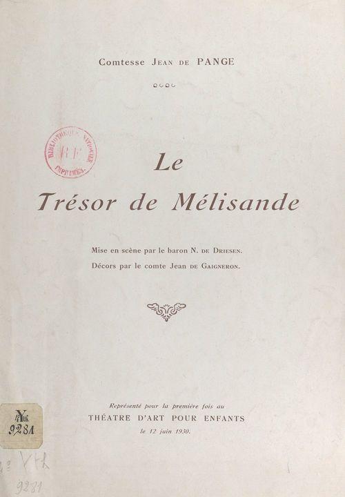 Le trésor de Mélisande