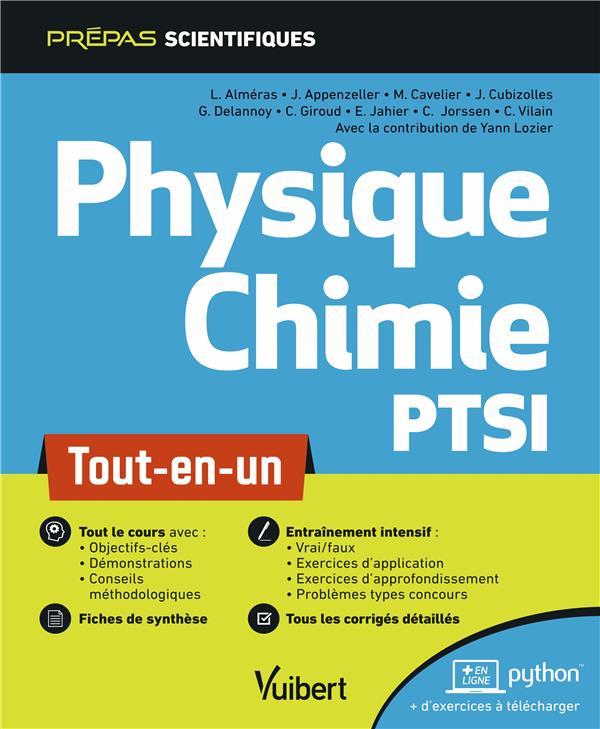 Physique-chimie PTSI ; tout-en-un