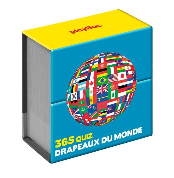 Mini calendrier ; 365 quiz sur les drapeaux du monde