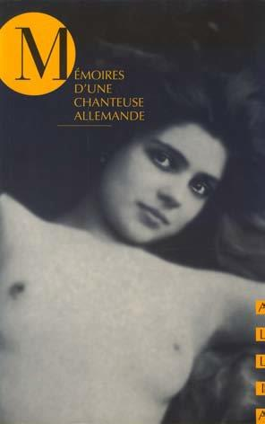 Mémoires d'une chanteuse allemande