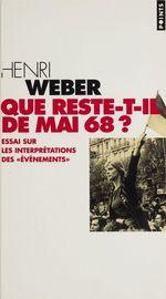 Que reste-t-il de Mai 68 ?