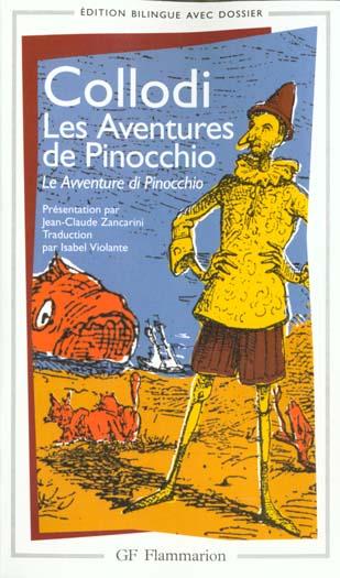 Les aventures de pinocchio - le avventure di pinocchio