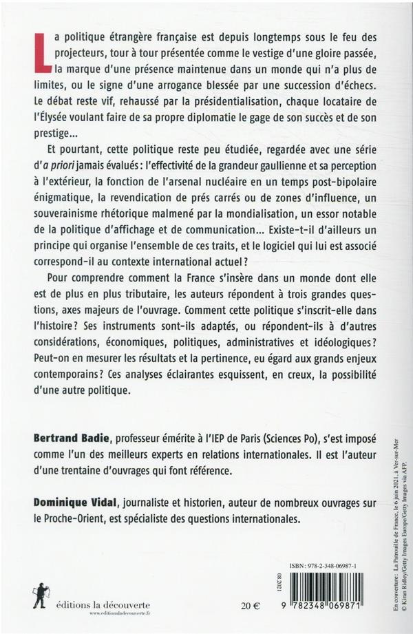 La France, une puissance contrariée (édition 2022)