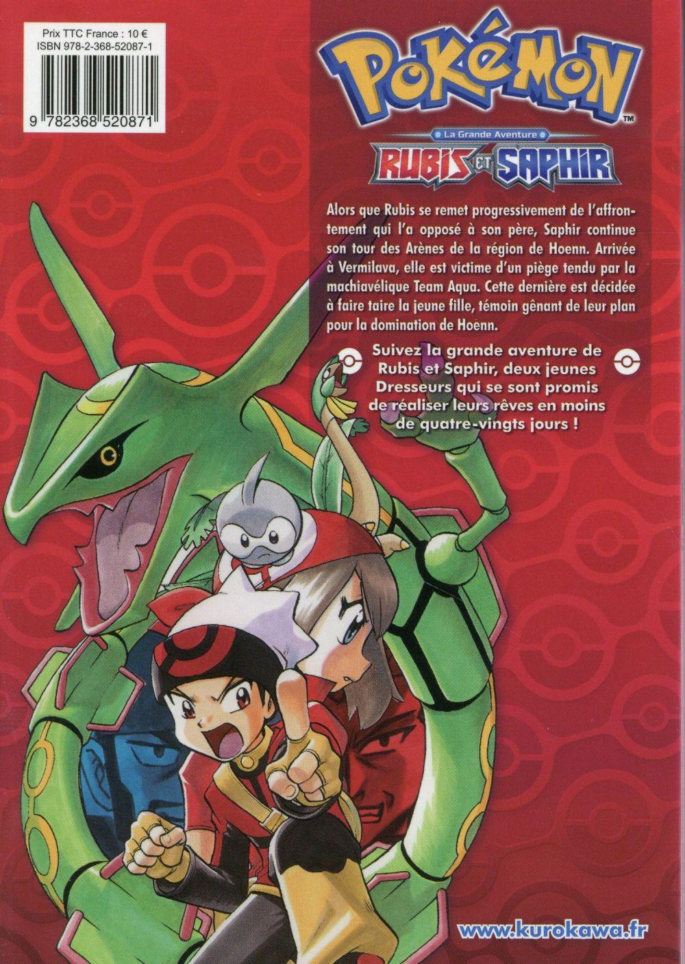 Pokémon ; la grande aventure - Rubis et Saphir t.2