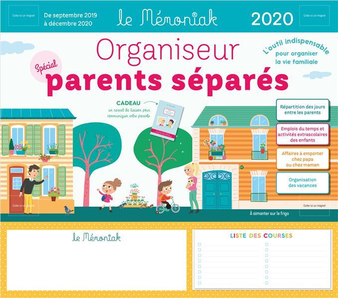 Mémoniak ; organiseur spécial parents séparés (édition 2019/2020)