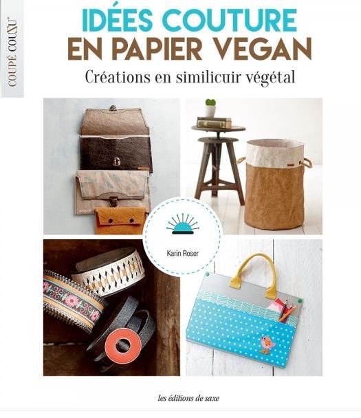 Idées couture en papier vegan