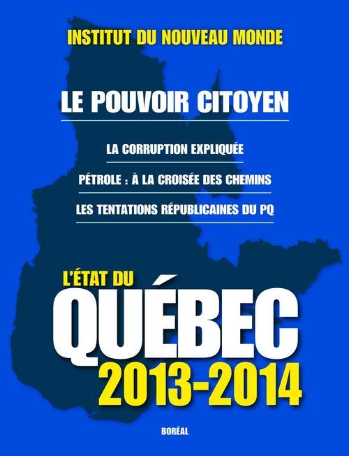 L'état du Québec, 2013-2014