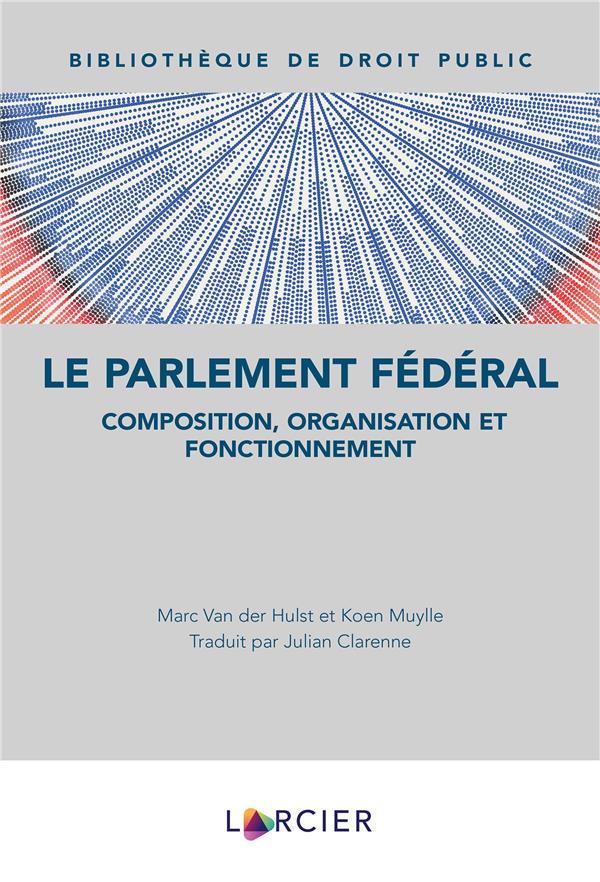 Le Parlement fédéral : composition, organisation et fonctionnement