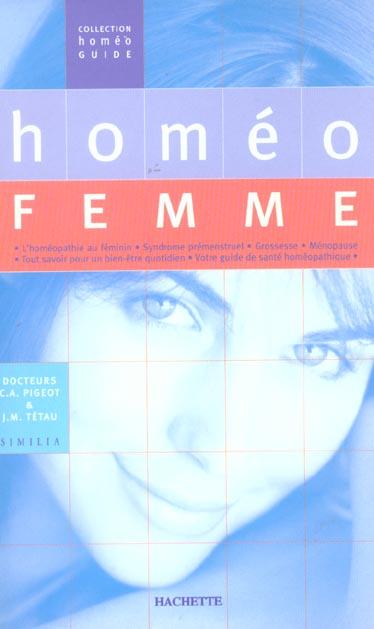 homeo femme ; l'homeopathie au feminin