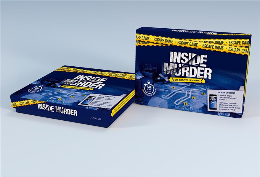 Escape game ; murder inside