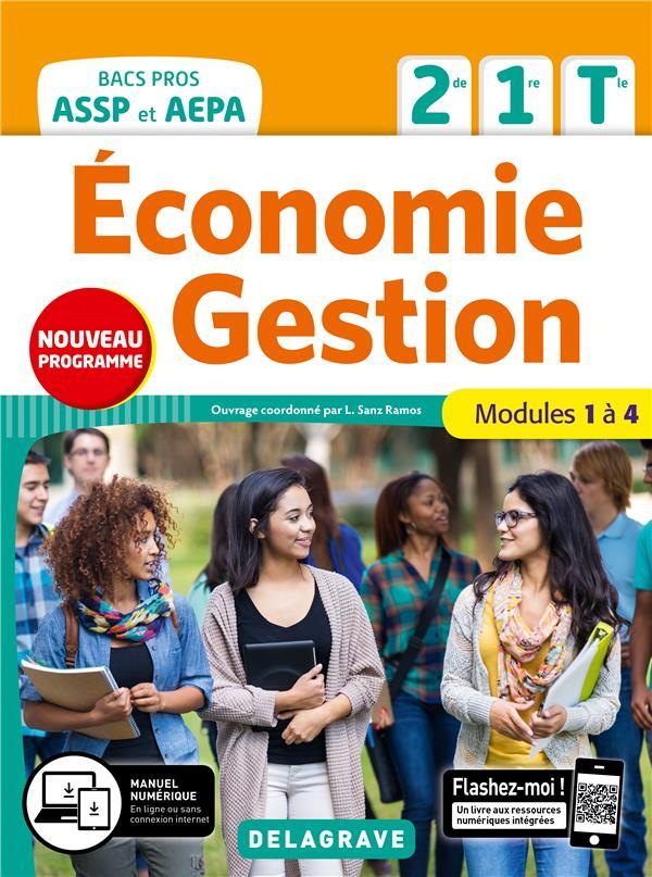 Economie-gestion 2de, 1re, tle bac pro assp et aepa 2020 - pochette eleve