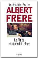 Vente EBooks : Albert Frère  - José-Alain Fralon