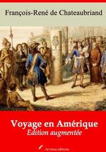Vente Livre Numérique : Voyage en Amérique - suivi d'annexes  - François-René de Chateaubriand