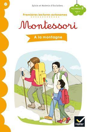 Premières lectures autonomes Montessori ; à la montagne