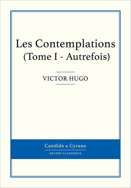 Les contemplations t.1