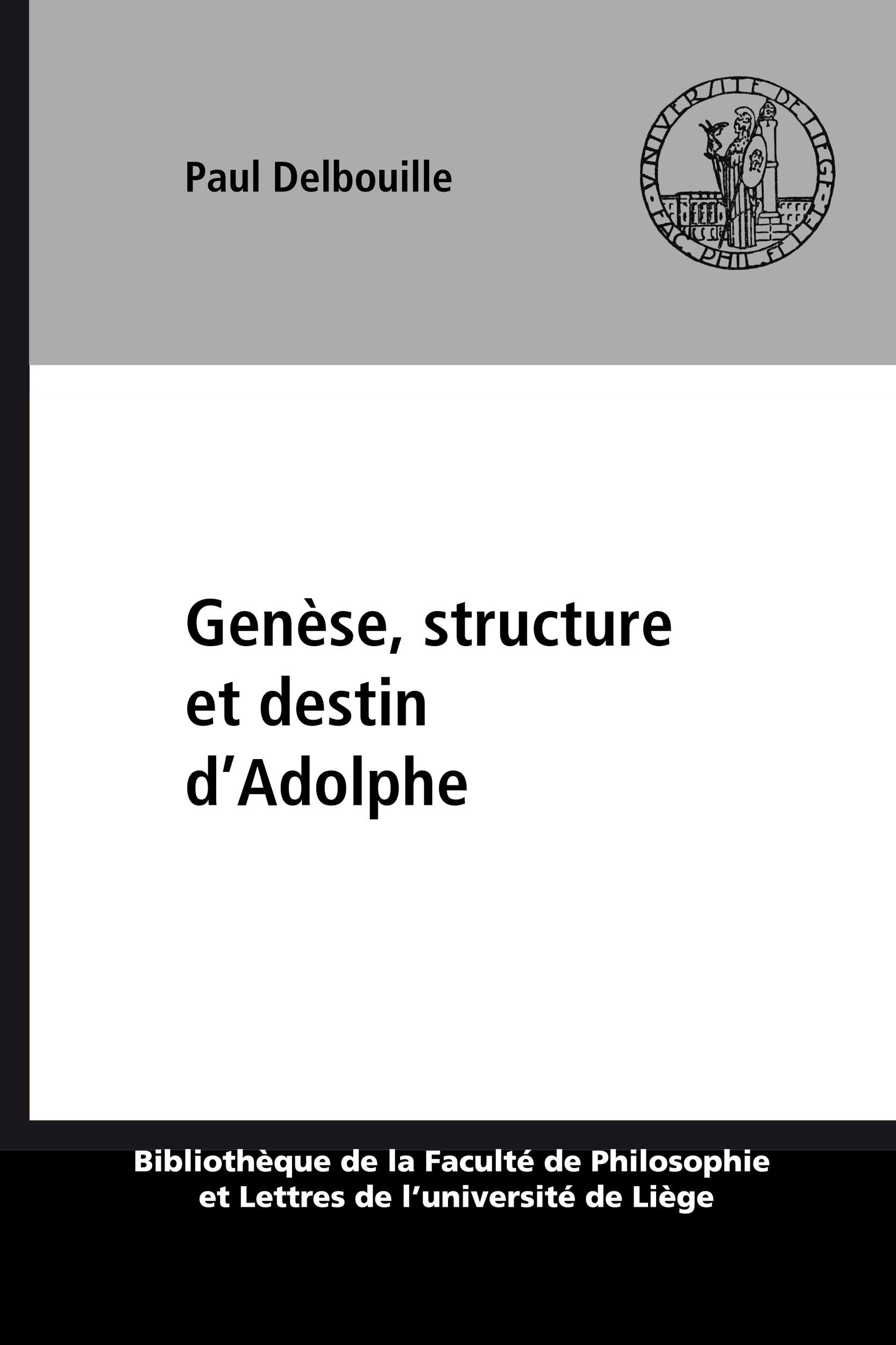 Genese, structure et destin d'