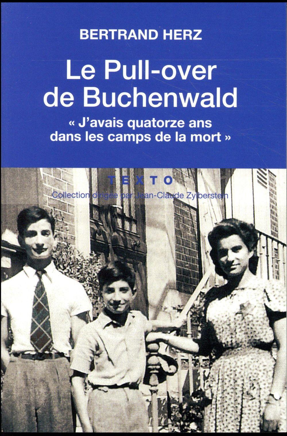 LE PULL OVER DE BUCHENWALD HERZ, BERTRAND