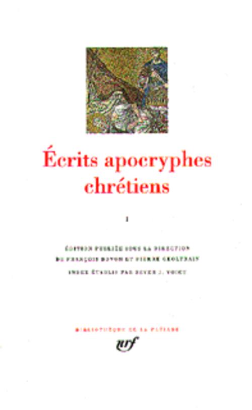 ECRITS APOCRYPHES CHRETIENS - VOL01