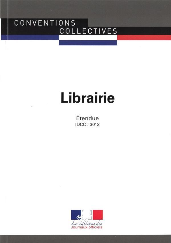 Librairie ; convention collective étendue, IDCC : 3013 (13e édition)