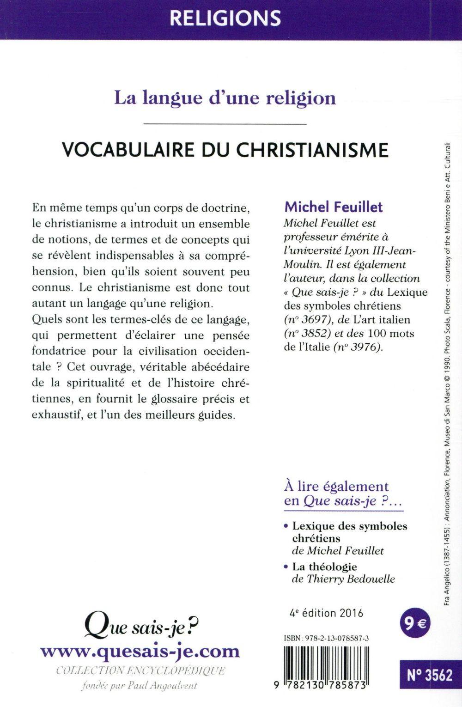 Vocabulaire du christianisme (4e édition)