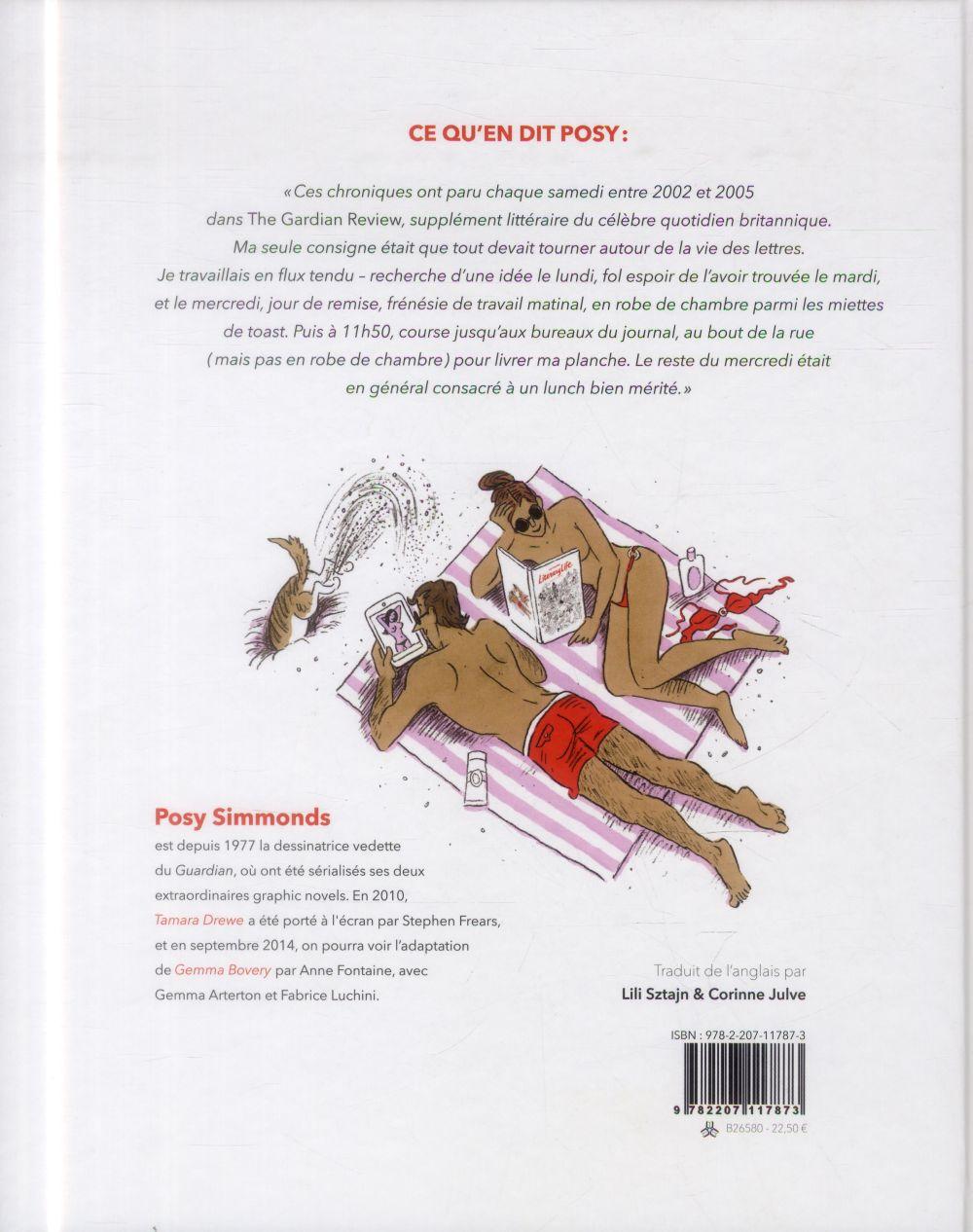 Literary life ; ses chroniques du Guardian 2002-2005