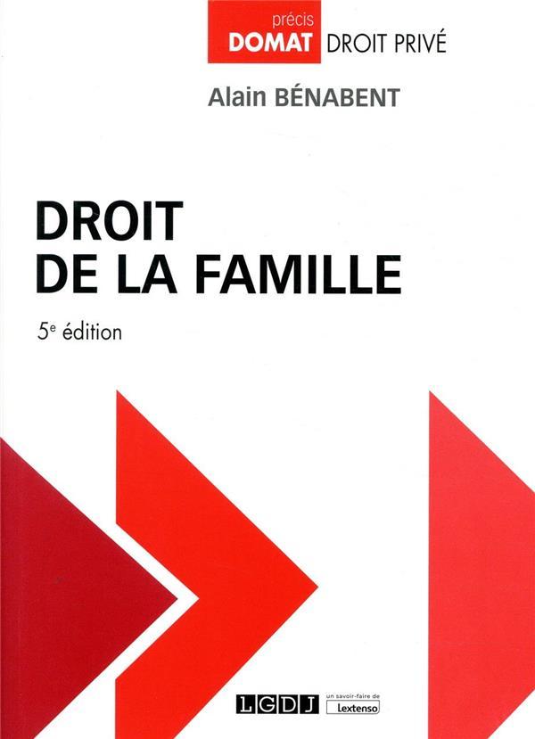 Droit de la famille (5e édition)