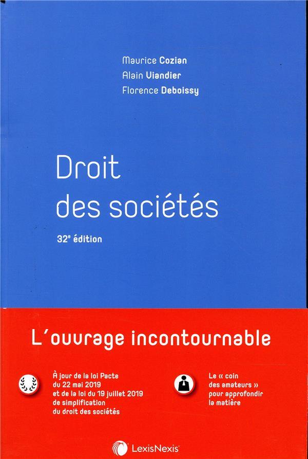 Droit des sociétés (32e édition)