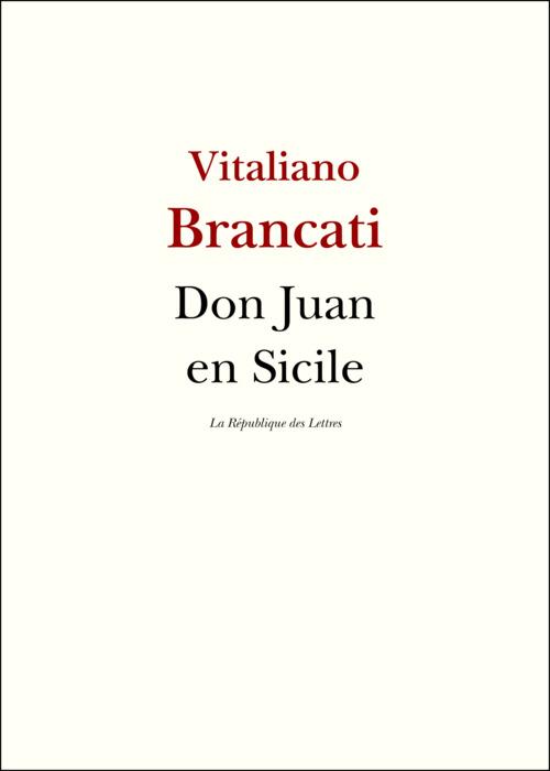 Don Juan en Sicile