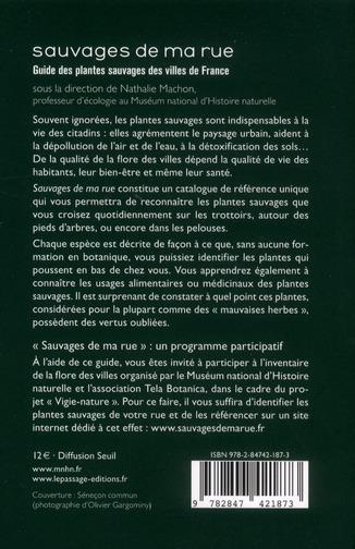 Sauvages de ma rue ; guide des plantes sauvages des villes de France