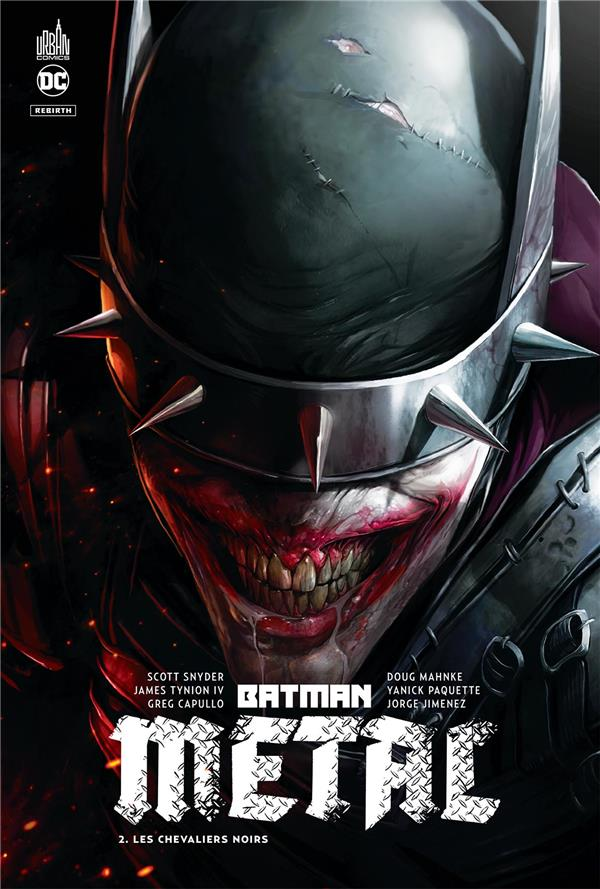 Batman metal t.2 ; les chevaliers noirs