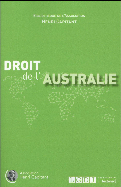 Droit de l'Australie