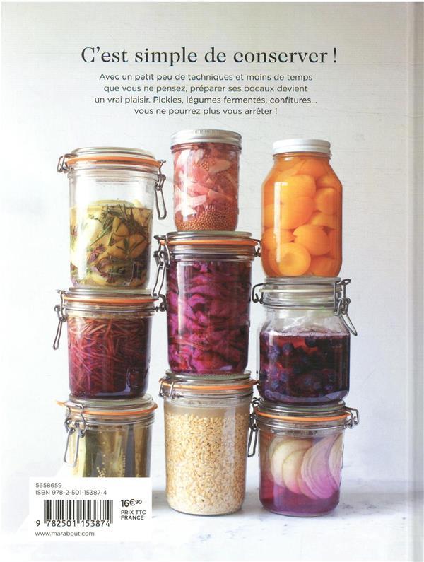 conservation maison : recettes et méthodes pour conserver ses aliments toute l'année