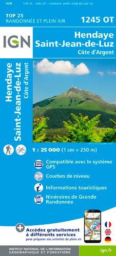 1245OT ; Hendaye, Saint-Jean-de-Luz, côte d'Argent