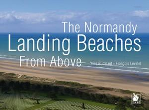 The normandy landing beaches for above