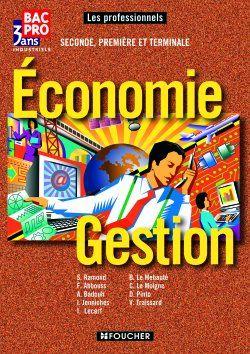 Les Professionnels Economie Gestion  Bac Pro