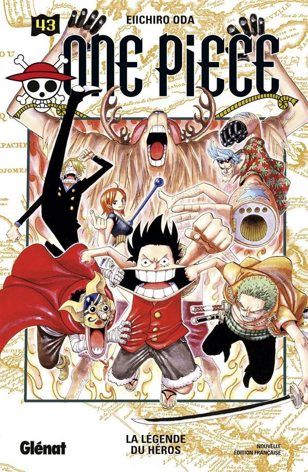 ONE PIECE - EDITION ORIGINALE - TOME 43 - LA LEGENDE DU HEROS Oda Eiichiro